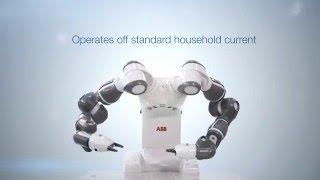세계 최초 협업용 양팔 로봇, ABB YuMi 유미