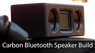 Carbon Bluetooth Speaker Build | How to Make a Bluetooth Speaker