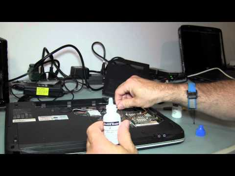 How to fix a Noisy Fan and Overheating on an Aspire 7720-6395