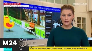 267 новых случаев заражения COVID-19 выявили в Москве за сутки - Москва 24