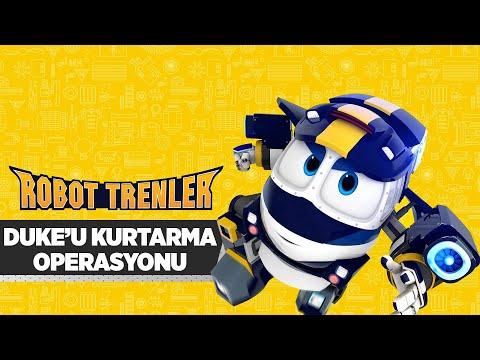 Robot Trenler 🚅 | 19.Bölüm - Duke'u Kurtarma Operasyonu | minika