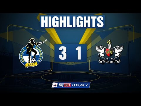 HIGHLIGHTS: Bristol Rovers 3-1 Exeter City