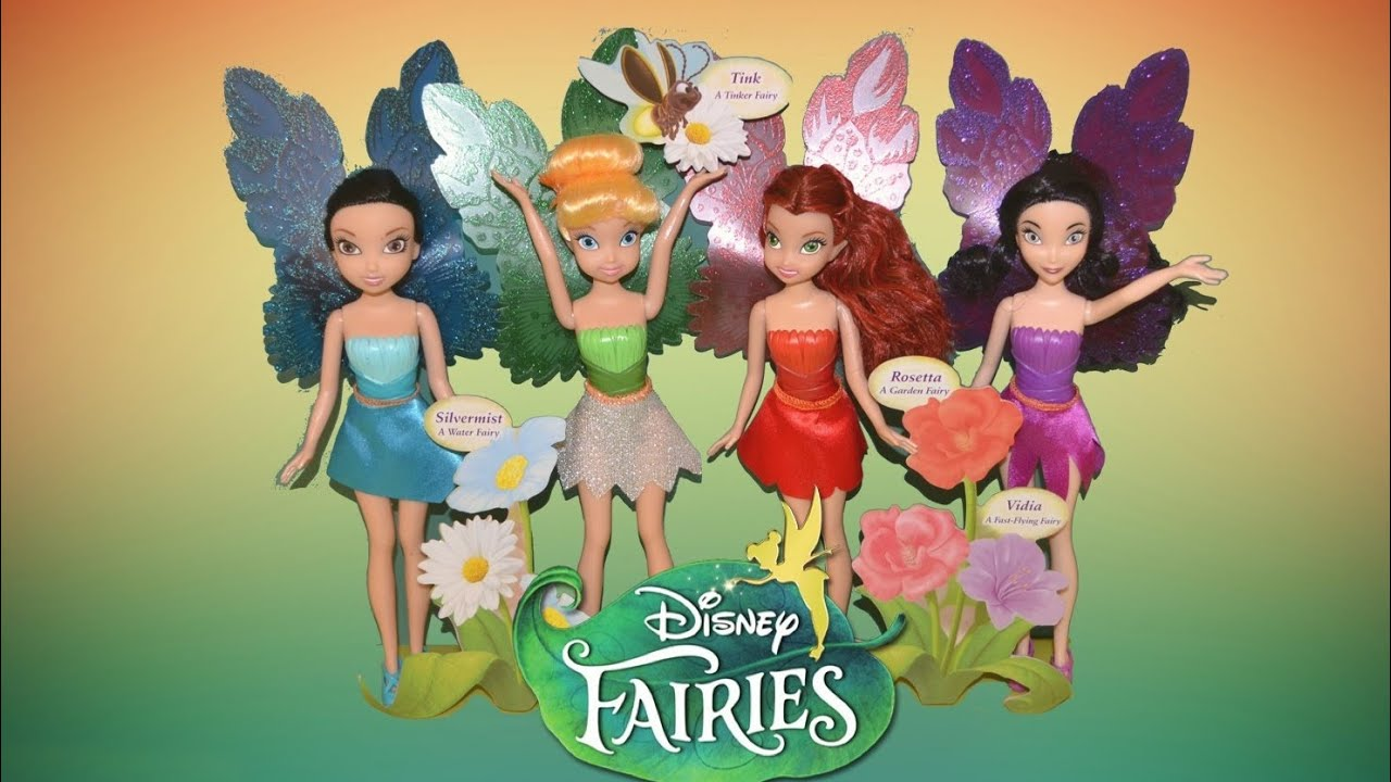 Tinkerbell Fairies Sparkle Blossom Collection Disney
