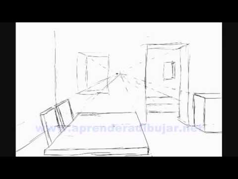 comment dessiner l 39 interieur d 39 une maison en perspective youtube. Black Bedroom Furniture Sets. Home Design Ideas