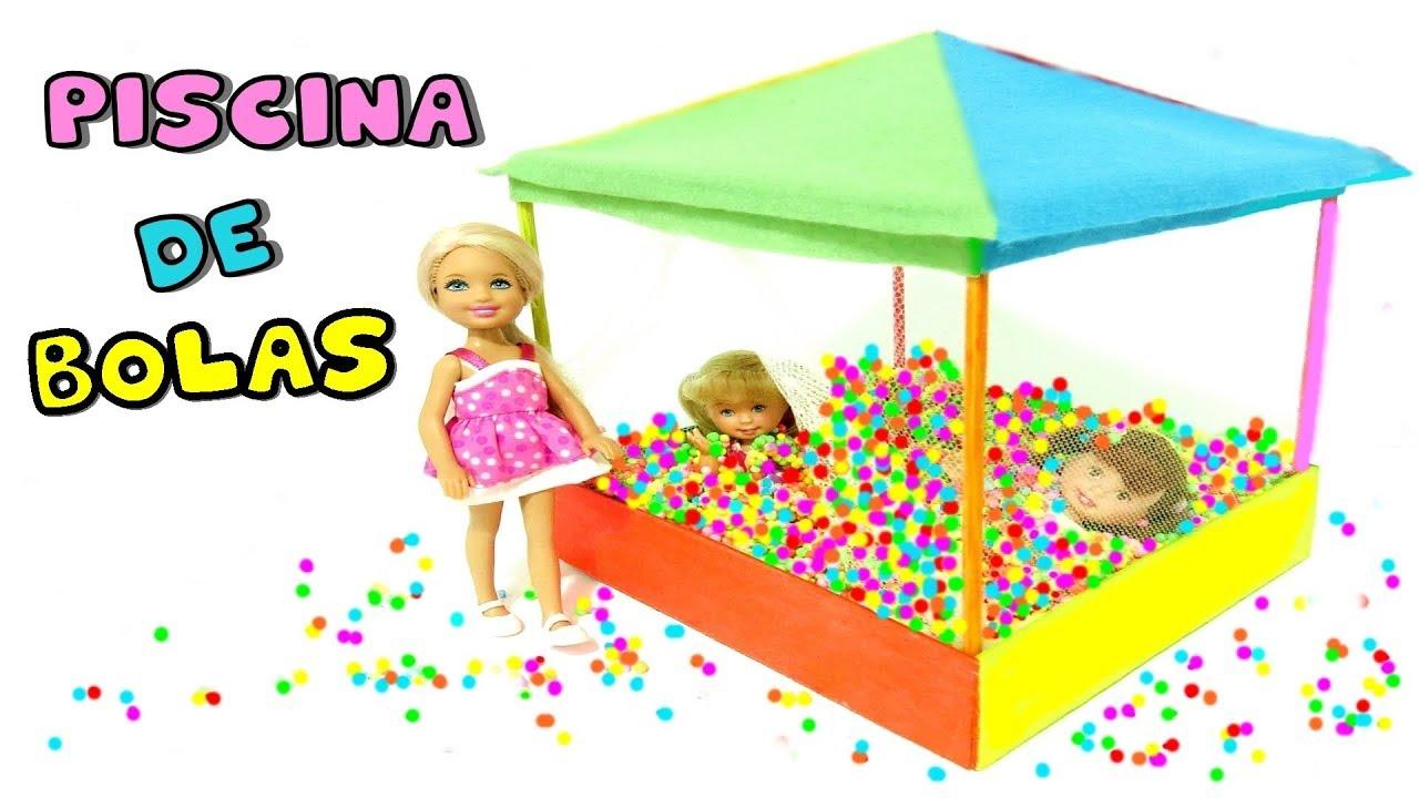 Como hacer mini piscina de bolas o pelotas para mu ecas for Piscina de bolas toysrus