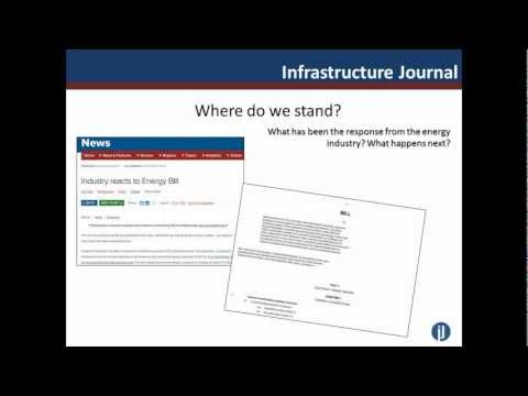 IJ Online Seminar: The UK's Energy Bill - Financing the Future