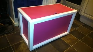 How To Build A Toybox Out Of Recycled Wood Step By Step