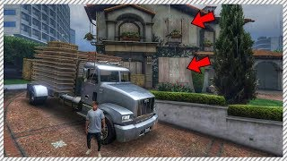 GTA 5 REAL LIFE MOD #20 - PREPARING FOR HURRICANE | BOARDING UP WINDOWS & EVACUATION THE CITY
