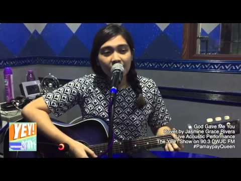 God Gave Me You - Cover by Jasmine Grace Rivera #PamaypayQueen