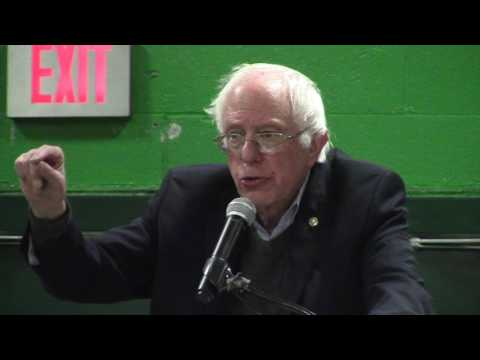 Sanders in Springfield, VT