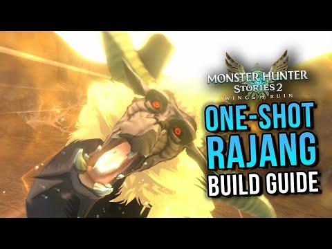 Crazy One-Shot Rajang Build   Monster Hunter Stories 2  