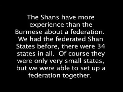 Shan independence, democracy, and a federal state