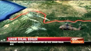 Türk F-16'lar sınırı ihlal eden Suriye helikopterini vurdu