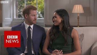 vuclip FULL Interview: Prince Harry and Meghan Markle  - BBC News