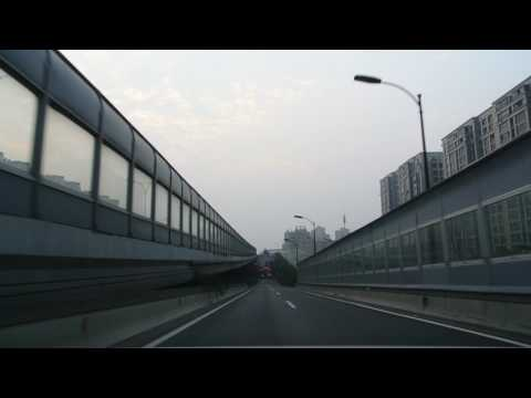 20170129_Driving on Desheng Road in Hangzhou