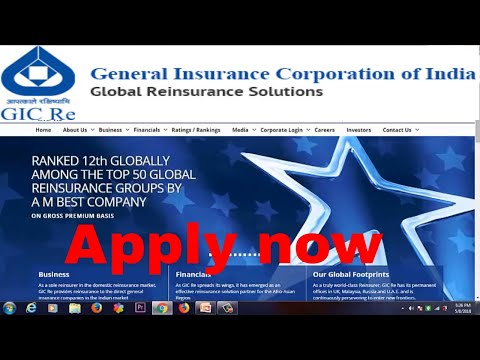 General Insurance Corporation Of India : Assistant Manager Recruitment 2018 apply now