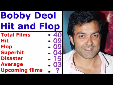 bobby-deol-hit-and-flop-movies-list- -bobby-deol-filmography,-hit-and-flop-movies-upcoming-film-2020