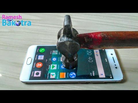 Vivo V5 Screen Scratch Test Gorilla Glass 3