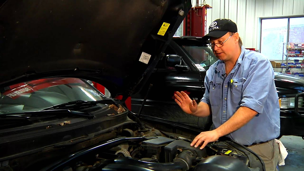 Auto Repair Tips Brake Booster Leak YouTube