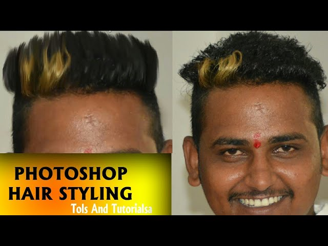 Photoshop me Hair Satyl  Chenj kare sirf 2 min me
