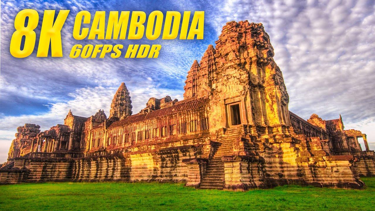Cambodia in 8K HDR 60FPS DEMO
