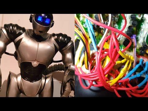 Robosapien V2 Rewire & Repair  ( fix to bad RSV2 wiring problem ) Wowwee