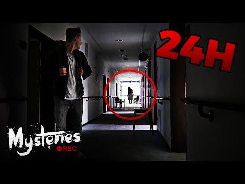 24H ALLEINE IN HORROR-KRANKENHAUS (ABGEBROCHEN) ☠ | Urbex Urban Exploring (LOST PLACE) Deutsch