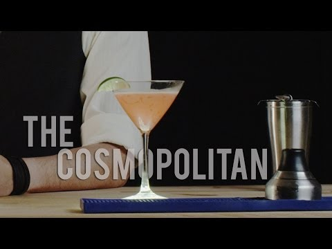 How to Make The Cosmopolitan - Best Drink Recipes