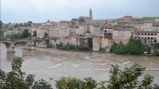 Voyage En Sac à Dos En France (Gex, Grenoble, Florac, Bergerac, Lourdes, Aubenas...)