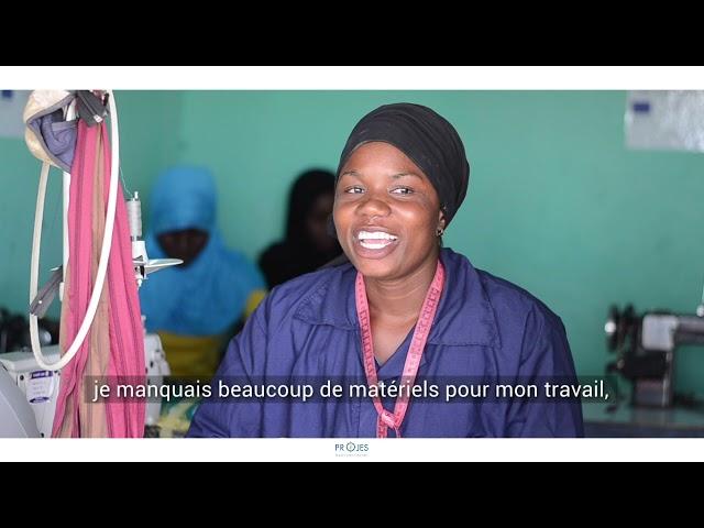 Témoignage de Fatoumata Sangaré, bénéficiaire  d'une AGR du PROJES
