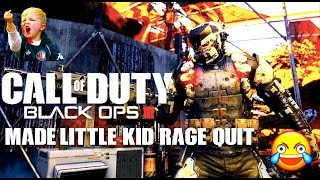 Black ops 3 funny moments.....little kid rage quit and watching porn?