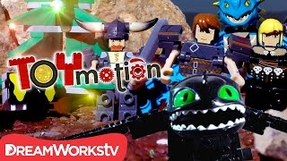 Hiccup & Toothless vs. The Skrill that Stole Snoggletog I TOYMOTION