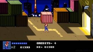 [Long Play] Double Dragon 4 - Retro music story mode