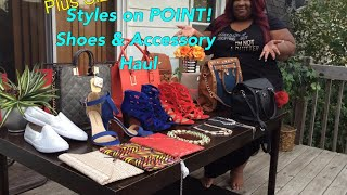 Style On Point! ~ Plus Size Shoes (WW) & Accessory Haul