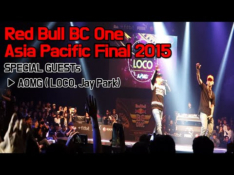 AOMG ( LOCO, Jay Park ) - 무례하게 LIVE / Red Bull BC One Asia Pacific Final 2015