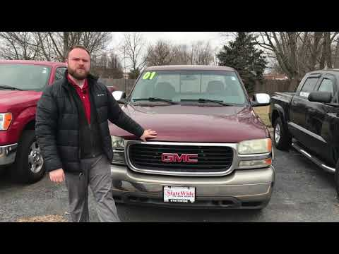 2001 GMC Sierra 1500 SLE At Statewide Ford Lincoln In Van Wert, Ohio