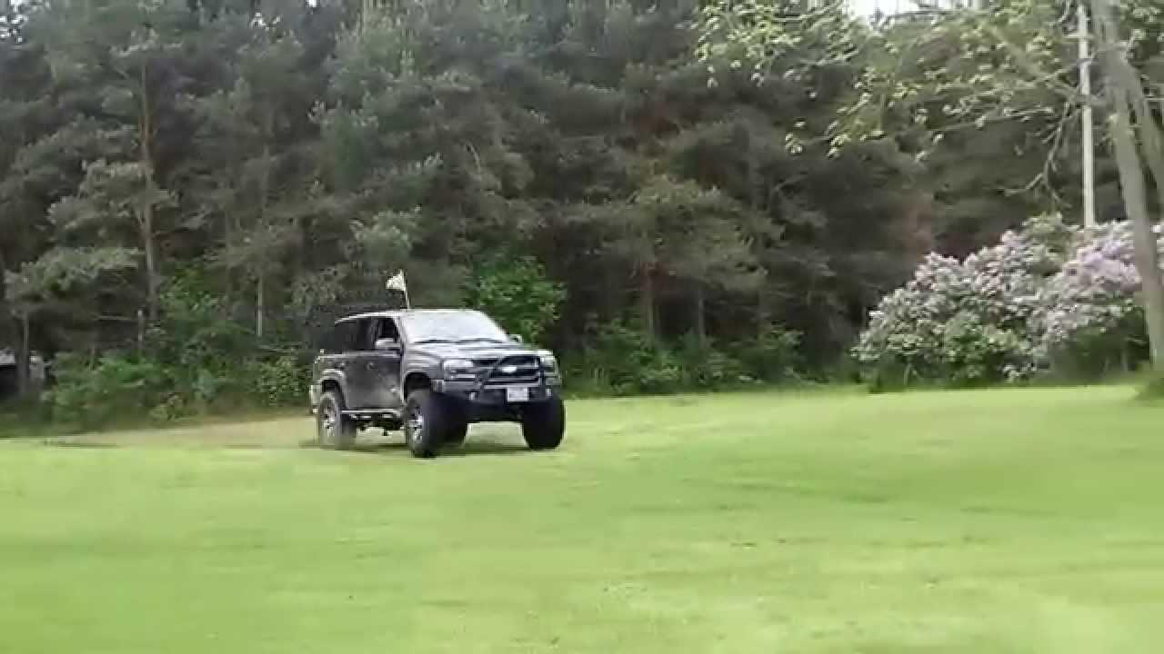 Lifted Trailblazer SS - Low Range - YouTube