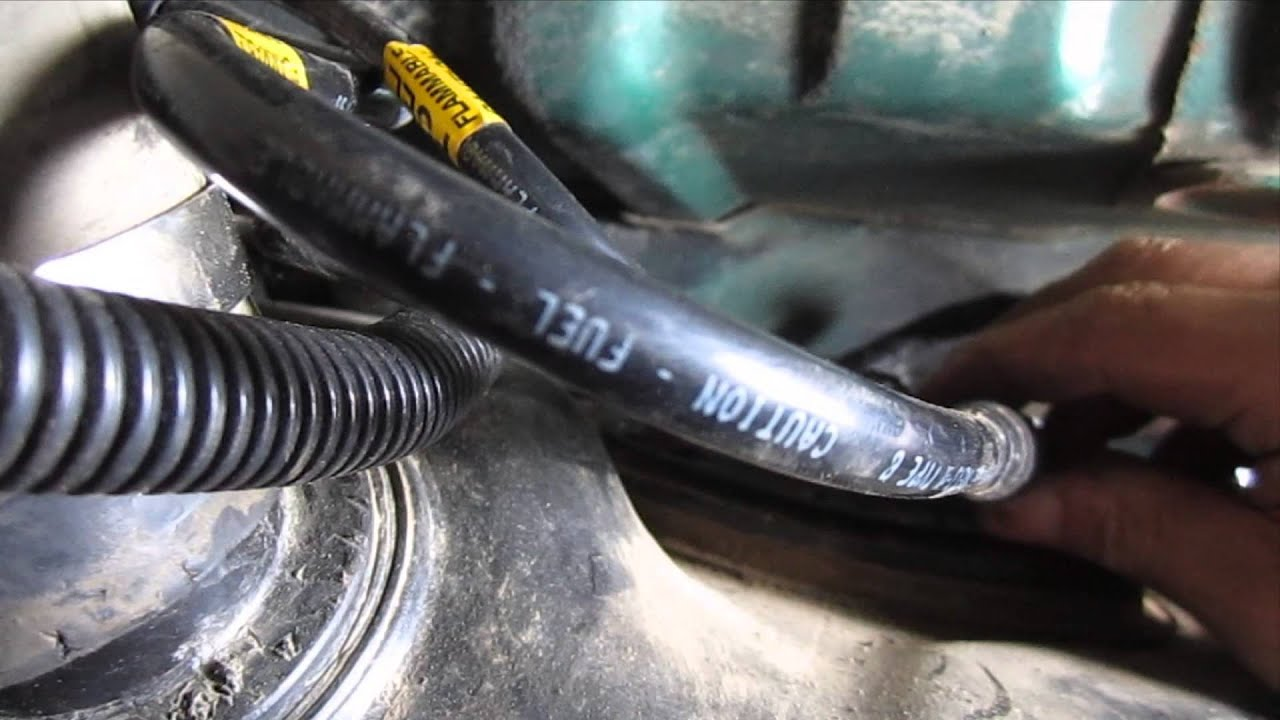 diy   install  fuel tank gmc jimmy chevy blazer