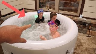 Wal-Marts Best Kept Secret The Coleman Tahiti Spa Hot Tub! Best Inflatable Hot Tub