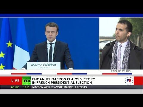 """""""The king is naked"""": Human rights activist #YasserLouati comments of French election thumbnail"""