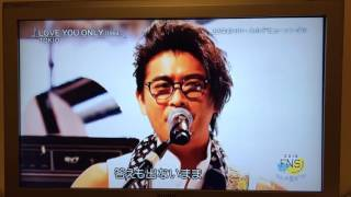 20160718  FNSうたの夏まつり TOKIO 「LOVE YOU ONLY」