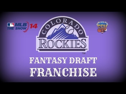 MLB 14: The Show (PS4) Colorado Rockies Fantasy Draft Franchise EP1