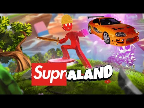 NO THERE ARE NO SUPRAS IN THIS GAME [SUPRALAND]  