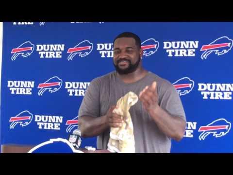 Buffalo Bills training camp - Marcell Dareus (8/1/17$=)