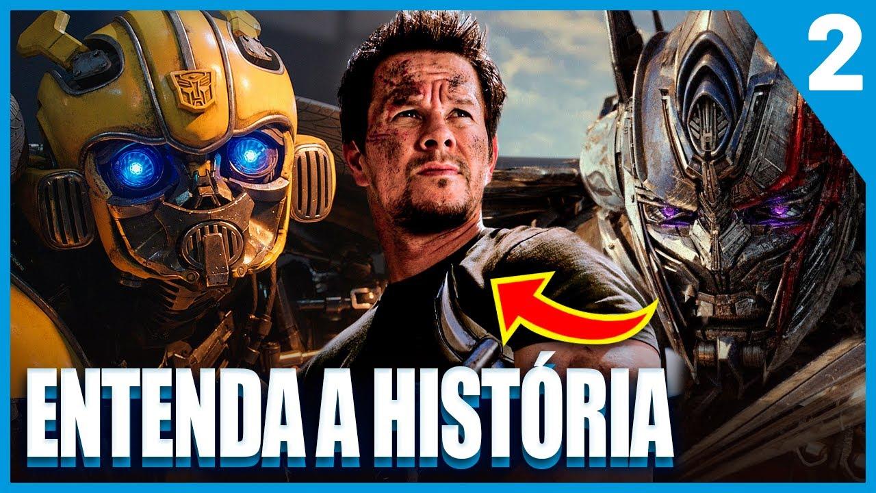 Download Saga Transformers | História dos Filmes, Explosões, Loucuragem e RAIVA | PT. 2