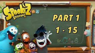 Spookiz | FULL Season 1 Compilation | Part 1 | Cartoons for Children 스푸키즈