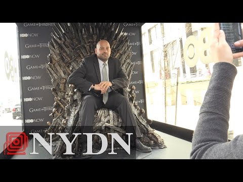 Iron Throne From 'Game Of Thrones' Comes To New York