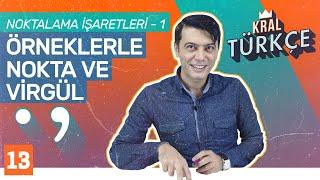 Noktalama İşaretleri - 1 Nokta ve Virgülün Kullanıldığı Yerler  8. Sınıf Türkçe Konu Anlatımı 13
