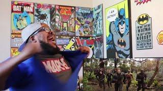 MARVEL Avengers Infinity War Trailer REACTION!!!