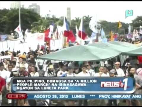News@1: Protesta ng mga Pilipino sa Luneta para sa abolisyon ng PDAF, inabot ng halos 4 na oras
